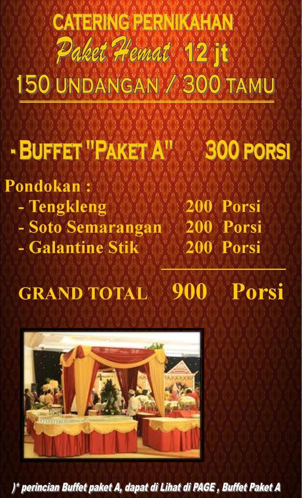 Paket Catering Pernikahan Semarang, Paket Pernikahan Murah di Semarang, Paket Wedding Semarang, H. Supardan Assidqie, 0888 641 4747